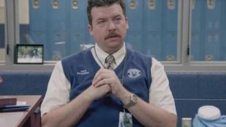 Danny McBride and Walter Goggins duke it out in HBO's 'Vice Principals'