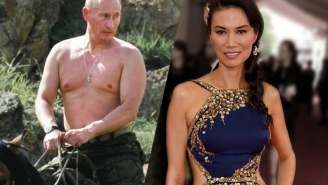 Vladimir Putin Is Allegedly Showing His Romantic Prowess With Rupert Murdoch's Ex-Wife