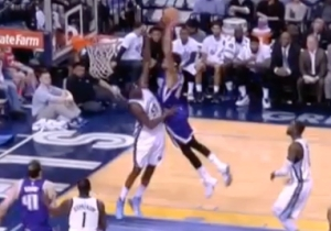 Willie Cauley-Stein Dunked On Poor Zach Randolph Like He Wasn't Even There