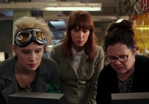 The 'Ghostbusters' trailer does something I've never seen before