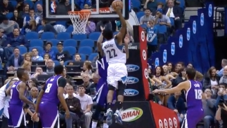 Andrew Wiggins Outleapt Willie Cauley-Stein For His Latest Poster Dunk