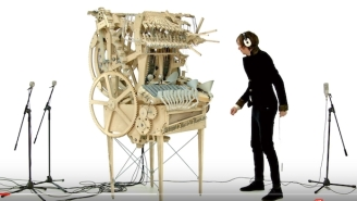 Watch This Ridiculous Machine Make Beautiful Music With 2,000 Marbles