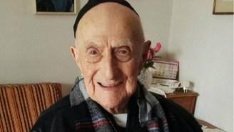 The World's Oldest Man Is An Auschwitz Survivor Now Living In Israel