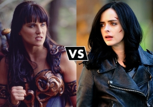 Who would you rather do battle with: Xena or Jessica Jones?