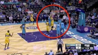 Watch The Hornets Block Nikola Jokic Not One, Not Two, But Three Times In A Row