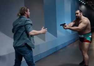 This New Clip From WWE Studios' 'Countdown' Finally Explains Why Rusev Has A Gun