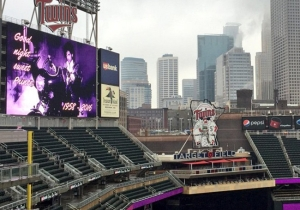 The Minnesota Twins Turned Their Stadium Purple To Honor Prince