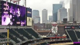 The Minnesota Twins Turned Their Stadium Purple To Honor Prince