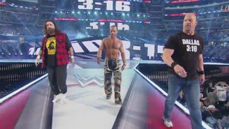 A Trio Of WWE Legends Made A Surprise Return At WrestleMania