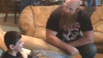WWE Superstar Erick Rowan Gave This Terminally Ill Boy A Once In A Lifetime Surprise