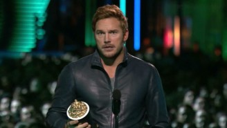 Chris Pratt Name-Dropped Pro Wrestling Legends During His MTV Movie Awards Speech