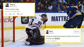 This Guy Live-Tweeted Game 7 Of The Blackhawks-Blues Game Despite Knowing Nothing About Hockey