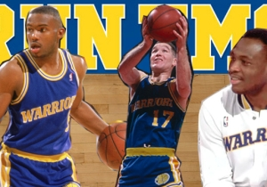 'Run TMC': Remembering The Warriors' Scoreboard-Igniting '90s Threesome