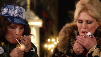 The 'Absolutely Fabulous' movie will kill Kate Moss, according to the first trailer