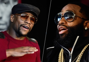 The Ridiculous War Of Words Continues Between Floyd Mayweather And Adrien Broner