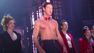 Watch This Performance From 'American Psycho: The Musical' Before You Return Videotapes