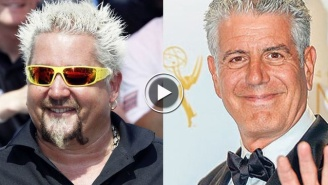 Is The Heated Anthony Bourdain-Guy Fieri Beef Finally Over?