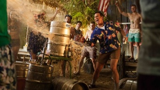 'Ash Vs. Evil Dead' Gets A Very Patriotic (And Bloody) Poster For Season 2