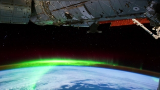 NASA Created A Trippy 4K Time-Lapse Of The Aurora Borealis From The International Space Station