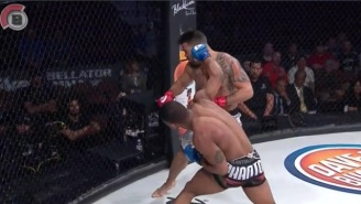Check Out Djamil Chan's Devastating Knockout Win At Bellator 153