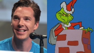 Benedict Cumberbatch makes us feel better about this 'Grinch' remake