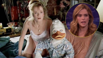 Lea Thompson's Daughter Had Some Very Odd Reactions To Her Mother's 'Howard The Duck' Sex Scene