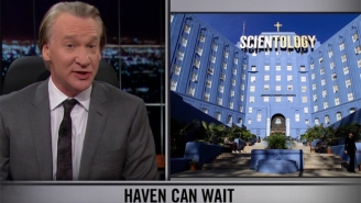Bill Maher Celebrates The Tax Deadline By Asking Why We Aren't Forcing Churches To Pay Taxes Yet