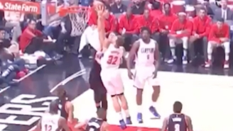 Blake Griffin Welcomed Himself To The Playoffs With This And-1 Dunk On Mason Plumlee