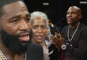 Adrien Broner Challenged Floyd Mayweather To A Fight