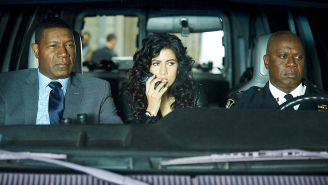 Review: Dennis Haysbert is Andre Braugher's perfect match on 'Brooklyn Nine-Nine'