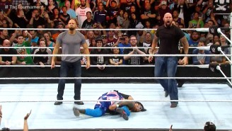 Watch Luke Gallows And Karl Anderson Make Their Violent Debut On WWE Raw