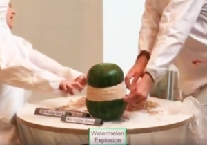 More People Watched This Watermelon Explode Than Some Of Your Favorite TV Shows