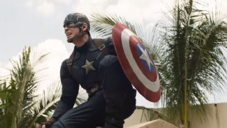 'Captain America: Civil War' Nails The Superhero Landing In A New Clip