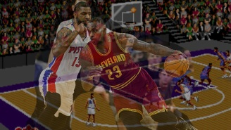 A Very Scientific Simulation Of The Cavs-Pistons Series Using Sega's 'NBA Action '94'