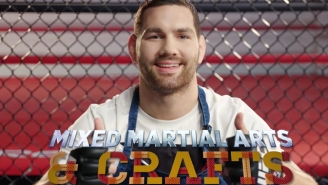Chris Weidman Gets Innovative With Violence And Construction Paper In 'Mixed Martial Arts And Crafts'
