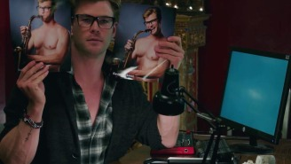 Internet dudes unhappy with Chris Hemsworth's 'Ghostbusters' character don't understand satire