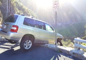 The Unluckiest Motorist Alive Escaped A Cliff Crash Only To Receive A Worse Fate