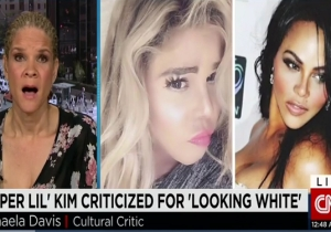 """Lil Kim Being Criticized For """"Looking White"""" Is Discussed On CNN"""