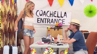 David Spade Brutally Skewers The Coachella Crowd For 'Funny Or Die'