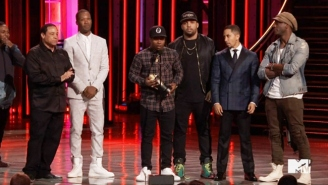 'Straight Outta Compton' Tosses Some Oscars Shade At The MTV Movie Awards
