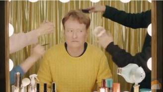 Conan O'Brien And A 'Walking Dead' Star Record A K-Pop Video And Visit North Korea