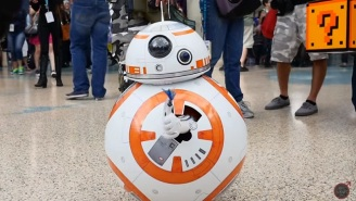 This Kid's BB-8 Costume From 'Star Wars: The Force Awakens' Is The Best In Any Galaxy