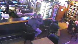 This Couple Is So Into Each Other, They Miss A Robbery Happening Next To Them