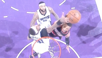 Willie Cauley-Stein Threw Damian Lillard's Dunk Right Back In His Face