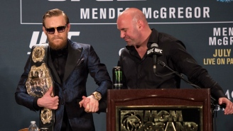The UFC Won't Punish Conor McGregor Until His Court Case Is Resolved