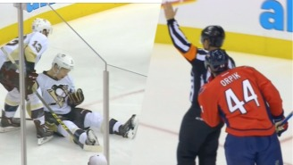 This Terrible Hit By Brooks Orpik Reportedly Concussed A Penguins Player