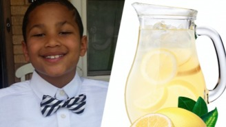 An Awesome Nine-Year-Old Just Funded His Own Adoption With A Lemonade Stand