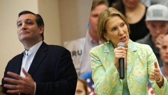 Ted Cruz Announces Carly Fiorina As His Future Vice Presidential Nominee