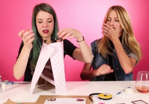 Watch These Sloppy Drunk Moms Create The Worst Pinterest Crafts Ever