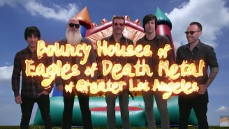 Eagles Of Death Metal Promote Their Bouncy House Business In This 'Conan' Clip